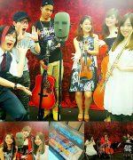 【 事例実績】 ニコニコ生放送出演・立体音響生演奏《美女たちの音楽会》