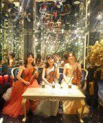 【生演奏派遣事例】芸能人御用達の銀座のショップのレセプションにヴァイオリントリオで大人雰囲気を演出