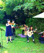 【生演奏派遣事例】細川侯爵邸結婚式披露宴