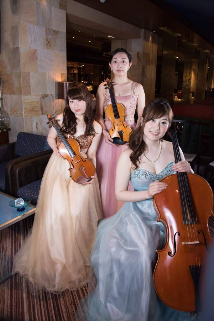 美女たちの音楽会弦楽トリオ
