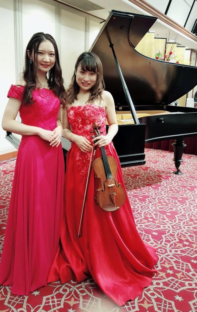 ヴァイオリン、ピアノデュオ