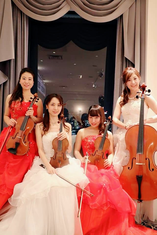 弦楽四重奏フェリスのメンバー