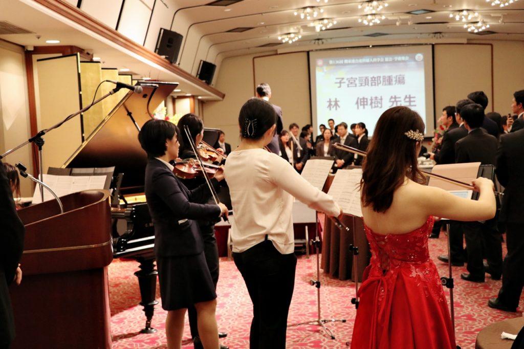 ヴァイオリン、ピアノのジョイント演奏