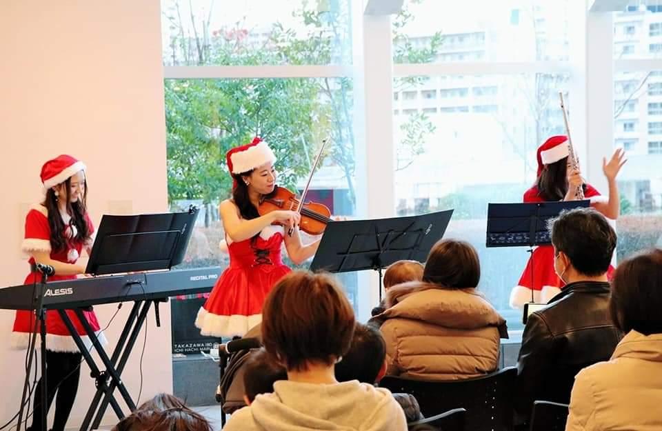 マンションクリスマスコンサート