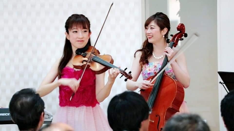 ヴァイオリン、チェロ