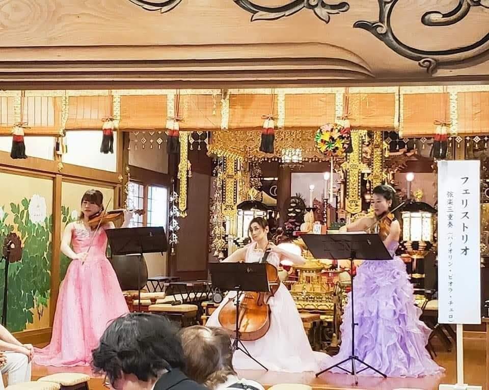寺院コンサート