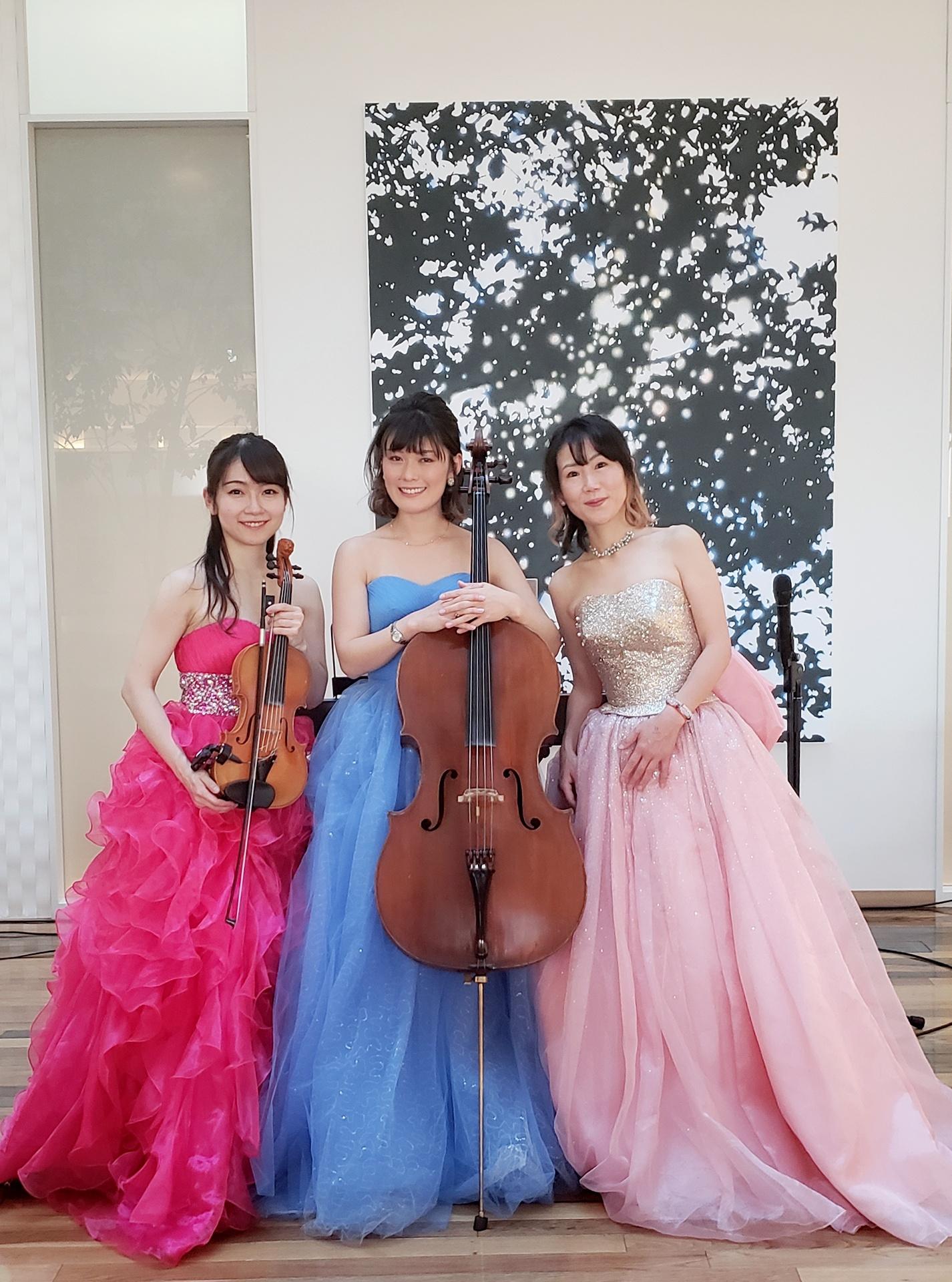 バイオリンチェロピアノの演奏家