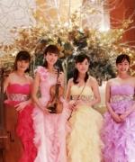 【生演奏依頼事例】東京アメリカンクラブ企業パーティー出演『超絶技巧美女』 バイオリン、フルート、チェロ、ピアノ